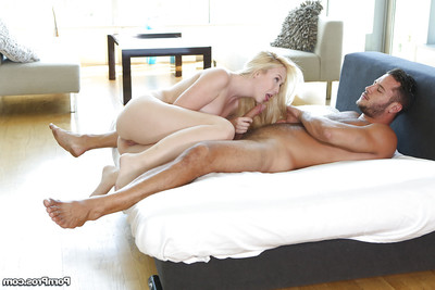Teen girlfriend Samantha Rone enjoys enormous jock core of her holes