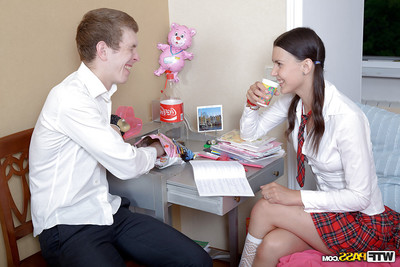 Untamed amateur schoolgirl is enjoying a hardcore copulation intercourse
