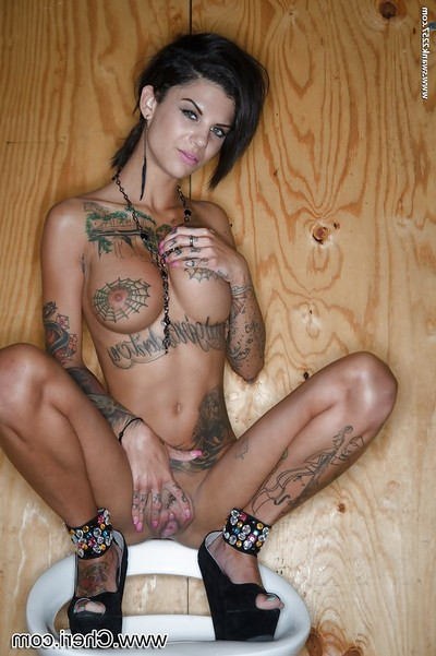All 3 of pornstar Bonnie Rotten