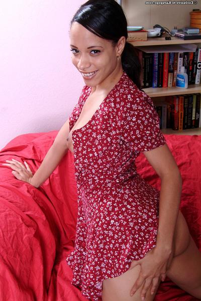 Undressing and masturbating act from teen teen girl Nautica Binks