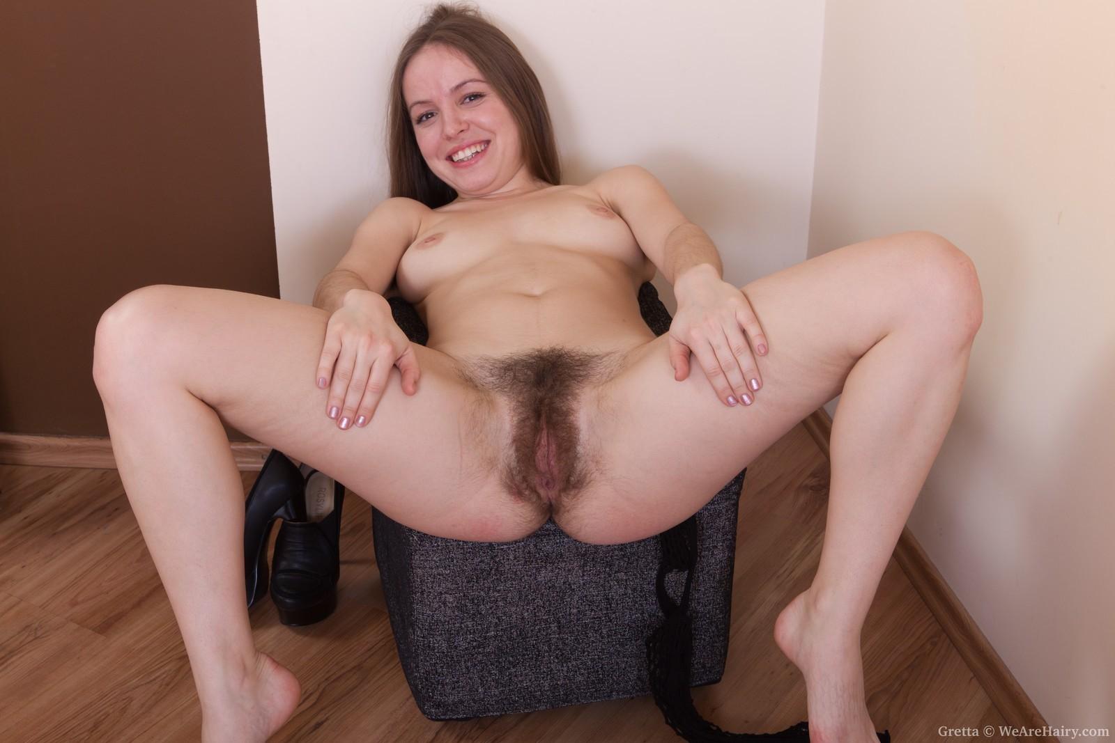 Curly angel gretta wears some revealing lingerie