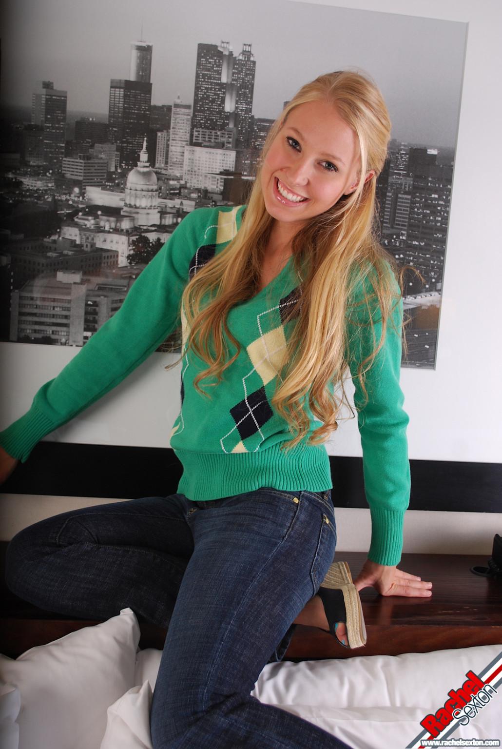 Rachel sexton in her everyday street dress