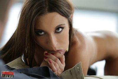 Julie Skyhigh anal pics in hot brown ayah