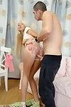 Youthful blond receives arse screwed