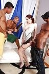 Glamorous interracial anal groupsex with spicy as fuck Atlanta