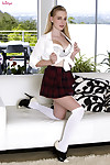 Stacie jaxxx erotic dance off her untamed schoolgirl uniform