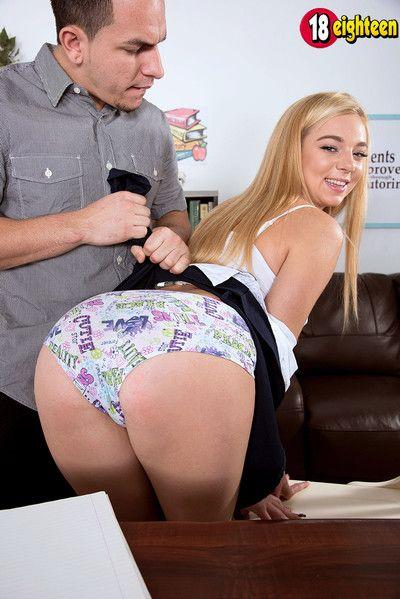 Teen tiffany watson try her regular anal sex skills