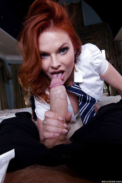 Tarra White blows a big cock and gets their way hungry holes drilled hardcore