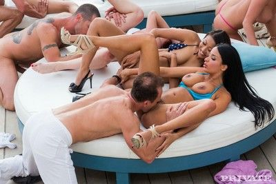 Anissa kate bonking in a real european sex corps