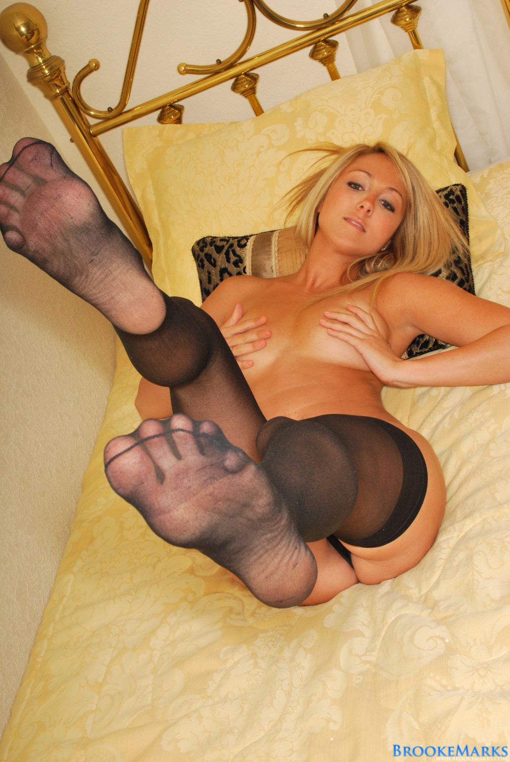 Stockings and heels brooke marks
