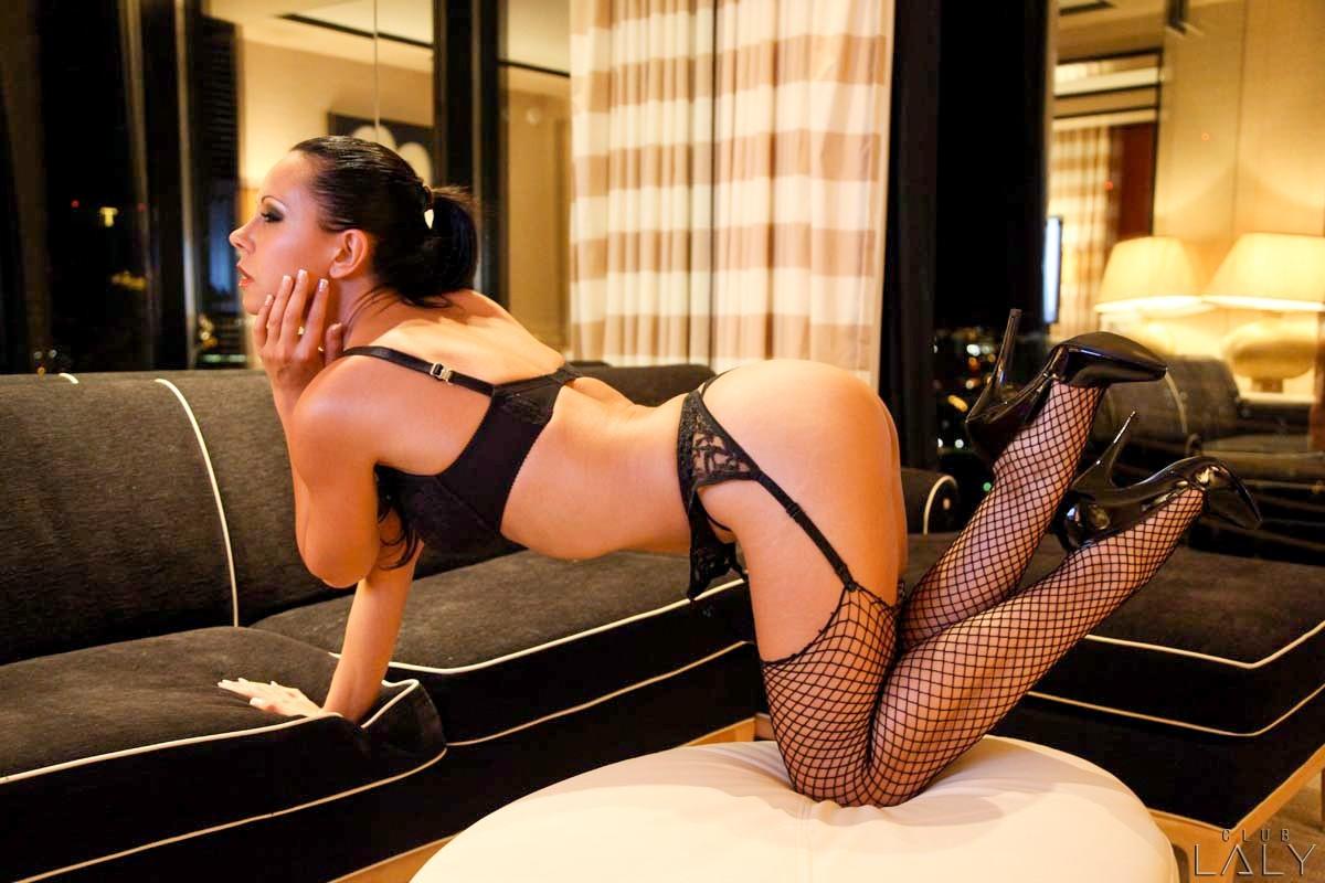 Appealing pornstar laly vallade