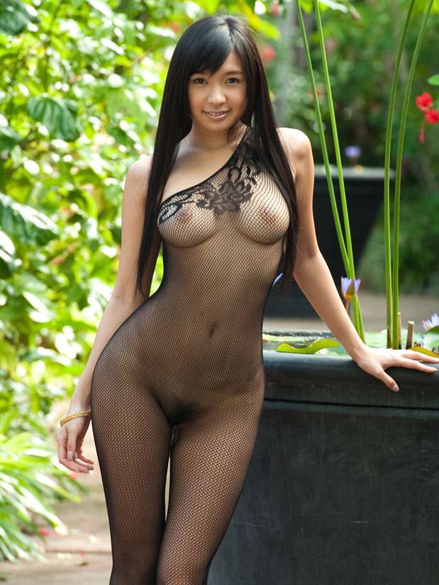 일본인 hotty Nana 오구라 에 bodystockings