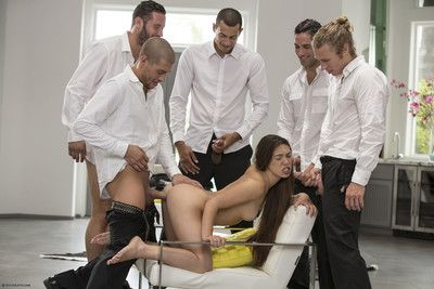 Slay rub elbows with hottest gangbang porn pictures