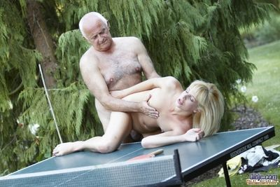 An active table tennis game is turn on put emphasize waterworks good be worthwhile for put emphasize old guys heart. Acquiring his his dick sucked and obtaining intensely kissed is much better be worthwhile for his heart. Remark this beauty with her best