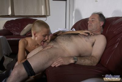 Ok, television can recoil a delicate entertainment, but what can recoil better than a delicate added to delicacy pussy. This girl loves ever liquid of this prudish guy. What a hot beast!