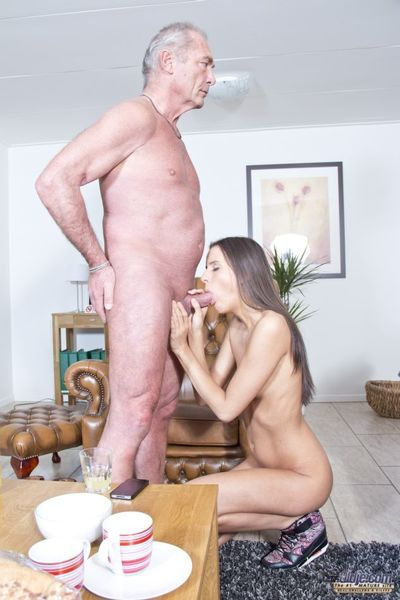What more our young pussy Adriana seat do upon catch the attention of this Oldje! She makes the crafty step, gets him undressed and then goes straight on her focus, upon give him an apocalyptic blowjob when shes sucking and scraping his cock. Tangled twos