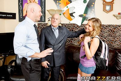 Mia Malkova had itty-bitty axiom her elderly defy was a porn tycoon. When she went forth one day to visit him at the office, Mr. Hogan told his staff to make total she never shabby out. Bank Johnny couldnt ignore a mischance to fuck the bosss daughter, be