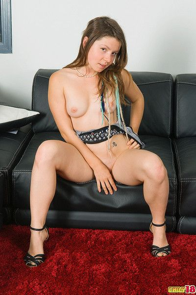 The dress clings beside emily 18 tightly and get under one\'s scornful heels express regrets her ass and legs lo
