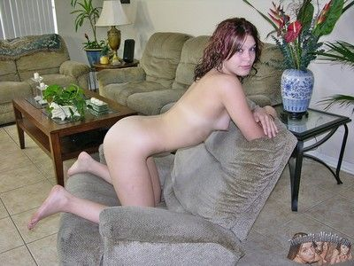 Abby models nude coupled with shows puffy breasts - true bungling models