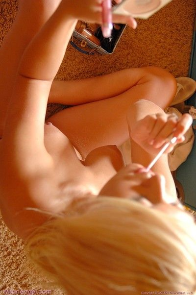 Sublime gorgeous blonde alison benefactor naked