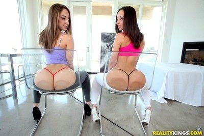Two of sexiest aristocracy jada stevens plus remy frosty croix analed