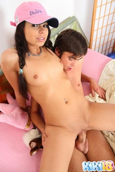 Small boob teen girl anent making love