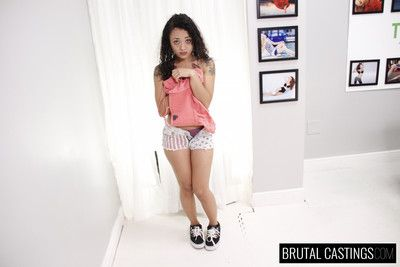 Holly hendrix brutal castings first time!