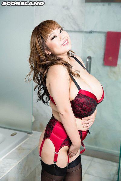 Japanese girl pchan apropos the asian big boob scene