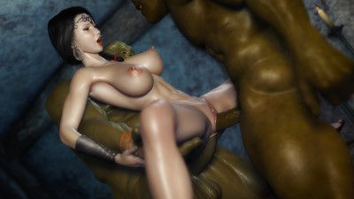 All kinds of lustful fairy creatures with the addition of lecherous sensual sex madness