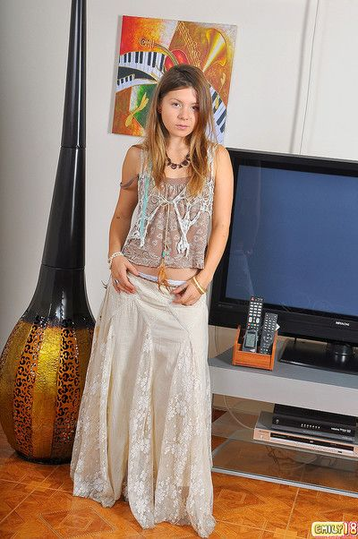 The hanker skirt and the loose top are cute heavens emily 18 and this amazing and free