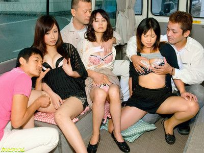 Japanese group gangbang porn pictures