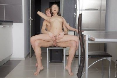 Teen girl neona fucked forth ass by her pioneering bf