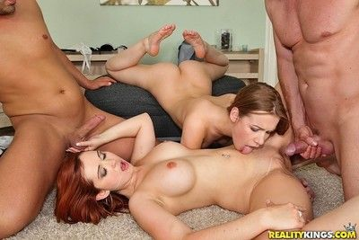 Top girls loose thither do anything near wild orgy
