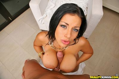 Busty angelica raven fucked in her round nuisance