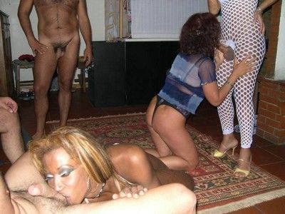 Crazy nextdoor wives loves pitch-black cocks