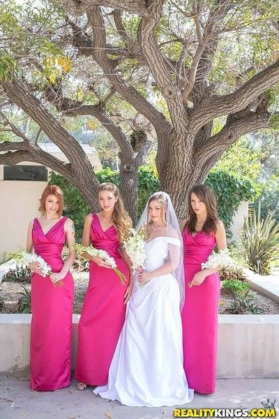 Sexy girls having a All the following are bridal