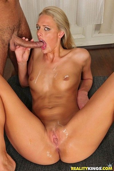 Flaxen-haired chelsey lanette double fucked at euro sex pack