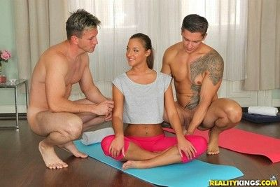 Teen amirah adara sample fucked in yoga position