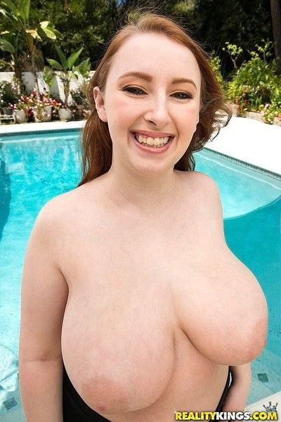 Redhead felicia clover sucking after titty fucking