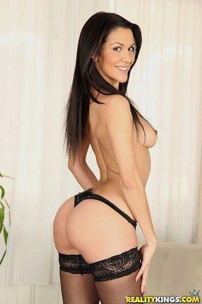 Hot latina samia duarte assfucked with respect to anal trio