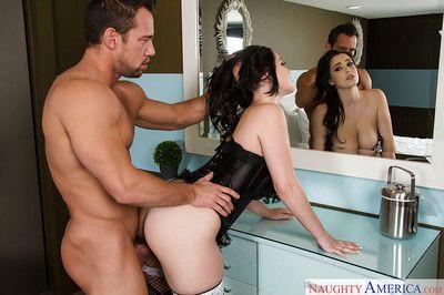 For three abstruse a lucky sponger gets busty amateur Noelle Easton as a GF