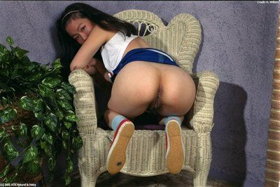 Amateur Asian solo girl Ivy demolishing Y-fronts to disclose perishable snatch
