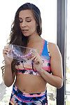 Amateur teen solo girl Cassidy Klein inserting sex bauble into filthy asshole