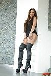 Julie skyhigh anal pictures in sexy black boots