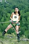 Adventure sports and sex with slutty asian pornstar lassie mai