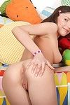 Russian teen cloee triplet enjoys her tight irritant rammed