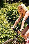 Alexis texas bike tool along turns secure naughty fun