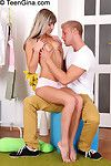 Teen anal coition action