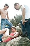 Group coition shtick nigh tasty teen beata undine