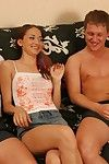 Russian teen double penetration up mmf threesome from teen mega
